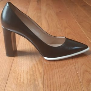 Tod's Pumps Block Heels Black